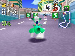 Screenshot Thumbnail / Media File 1 for Bomberman Fantasy Race [U]